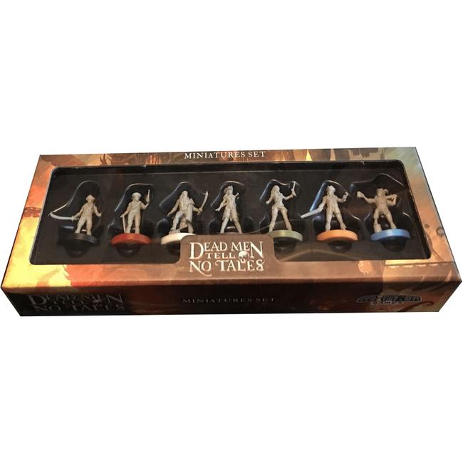 Renegade Game Studios Dead Men Tell no Tales  : Miniatures Set [English]