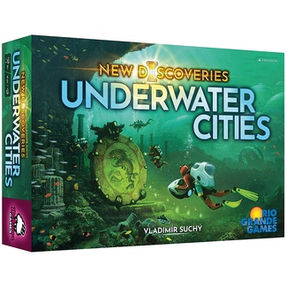 Rio Grande Games Underwater Cities : New Discoveries [English]