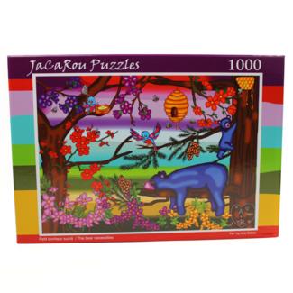 JaCaRou Puzzles The Bear Necessities (1000 pieces)