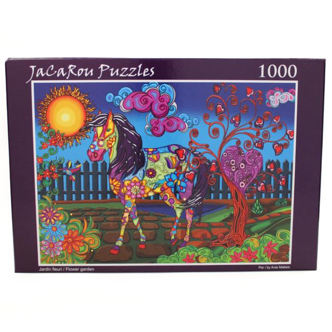 JaCaRou Puzzles Flower Garden (1000 pieces)