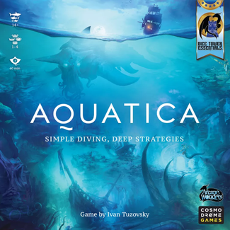 Arcane Wonders Aquatica [English] *** Damaged Box - 01 ***
