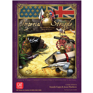 GMT games Imperial Struggle [English] *** Damaged Box 001 ***