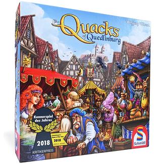 North Star Games Quacks of Quedlinburg [English] *** Damaged Box 001 ***