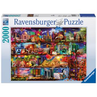 Ravensburger Le monde des  livres (2000 pièces)