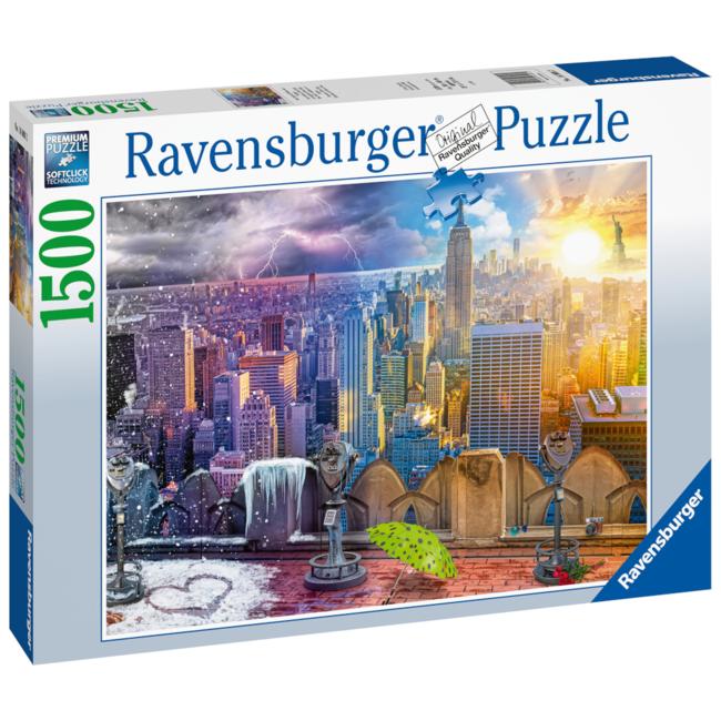 Ravensburger Seasons of New York (1500 pieces)