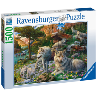 Ravensburger Wolves in Springs (1500 pieces)