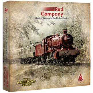 Archona Games Small Railroad Empires : Red Company [English]