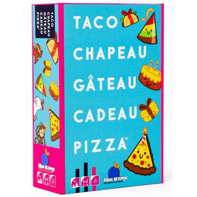 Blue Orange Taco, Chapeau, Gâteau, Cadeau, Pizza [French]