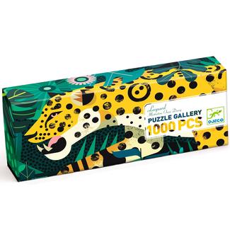 Djeco Puzzle Gallery - Leopard (1000 pieces)