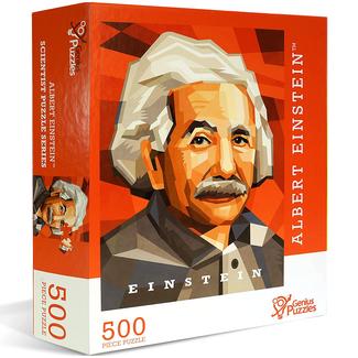 Genius Puzzles Scientist Puzzle Series - Albert Einstein (500 pieces)