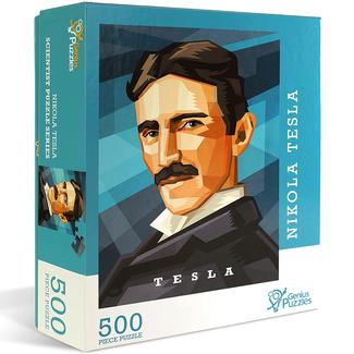 Genius Puzzles Scientist Puzzle Series - Nikola Tesla (500 pieces)