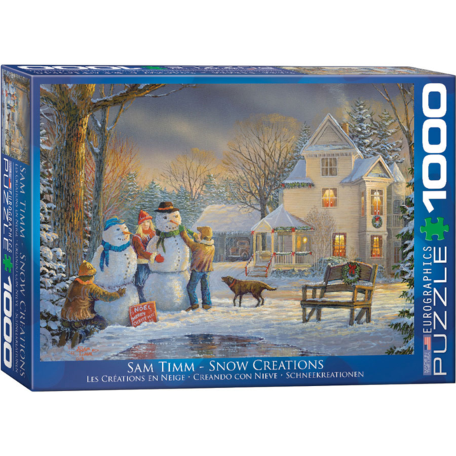 EuroGraphics Puzzle Snow Creations (1000 pieces)