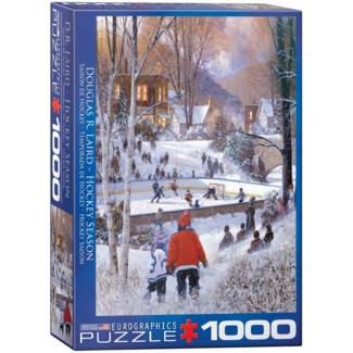 EuroGraphics Puzzle Hockey Season (1000 pieces)