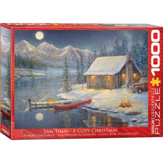 EuroGraphics Puzzle A Cozy Christmas (1000 pieces)