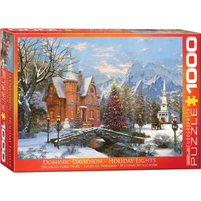 EuroGraphics Puzzle Holiday Lights (1000 pieces)