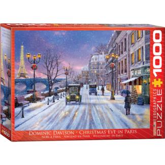 EuroGraphics Puzzle Christmas Eve in Paris (1000 pieces)