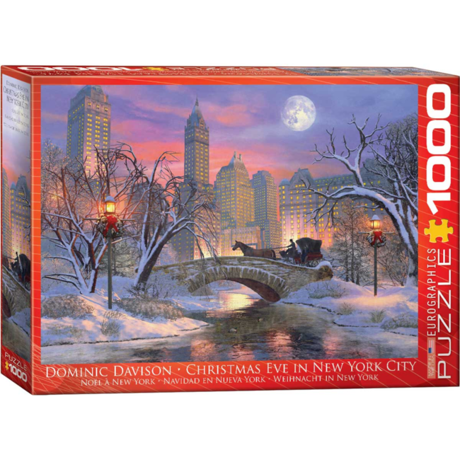 EuroGraphics Puzzle Christmas Eve in New York City (1000 pieces)