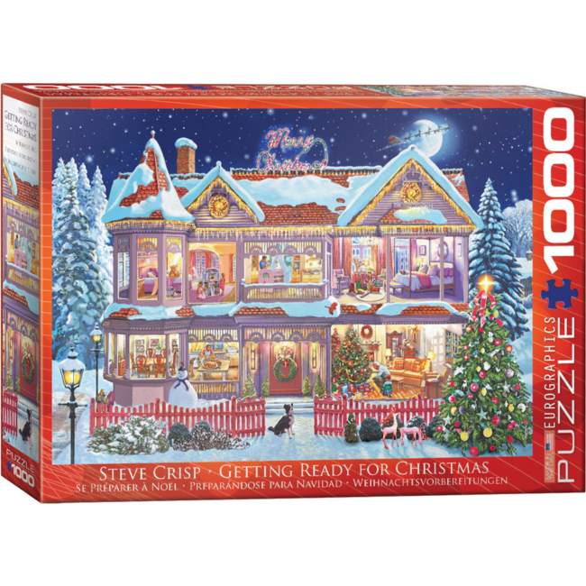 EuroGraphics Puzzle Getting Ready for Christmas (1000 pieces)