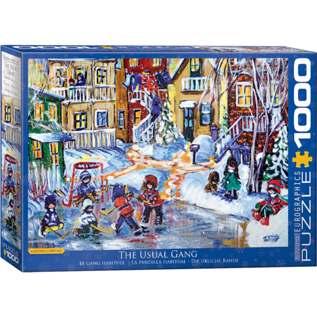 EuroGraphics Puzzle The Usual Gang (1000 pieces)