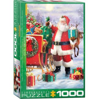 EuroGraphics Puzzle Santa's Sled (1000 pieces)