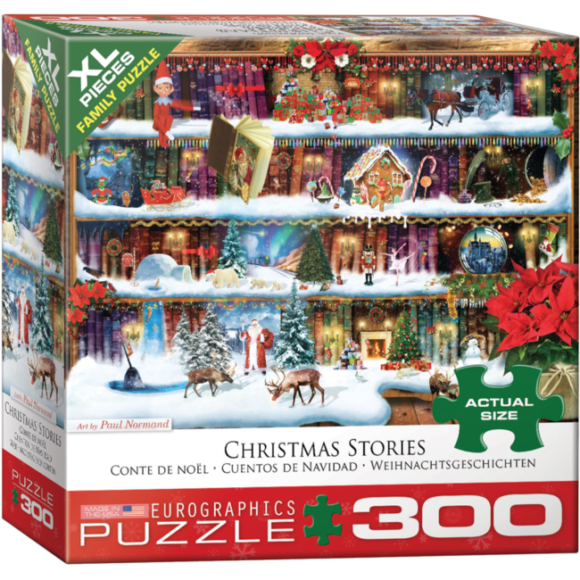 EuroGraphics Puzzle Christmas Stories (300 pieces)