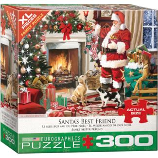 EuroGraphics Puzzle Santa's Best Friend (300 pieces)