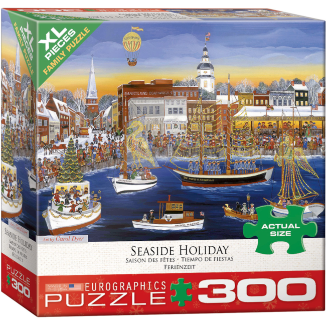 EuroGraphics Puzzle Seaside Holiday (300 pieces)