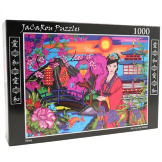 JaCaRou Puzzles Niwa (1000 pieces)
