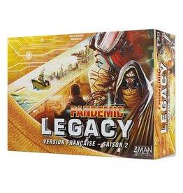 Z-Man Pandemic - Legacy - Saison 2 (boîte jaune) [français]