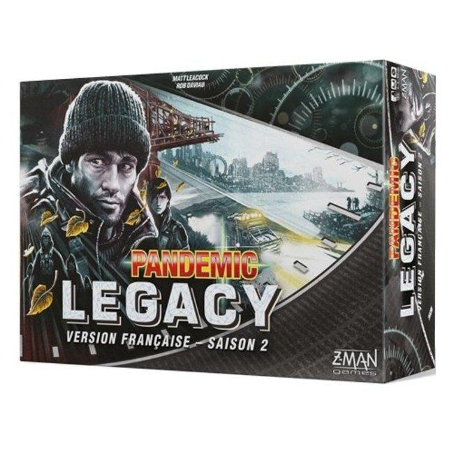Z-Man Pandemic - Legacy - Saison 2 (boîte noire) [French]