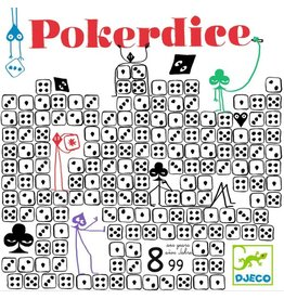 Djeco Poker Dice [multilingue]