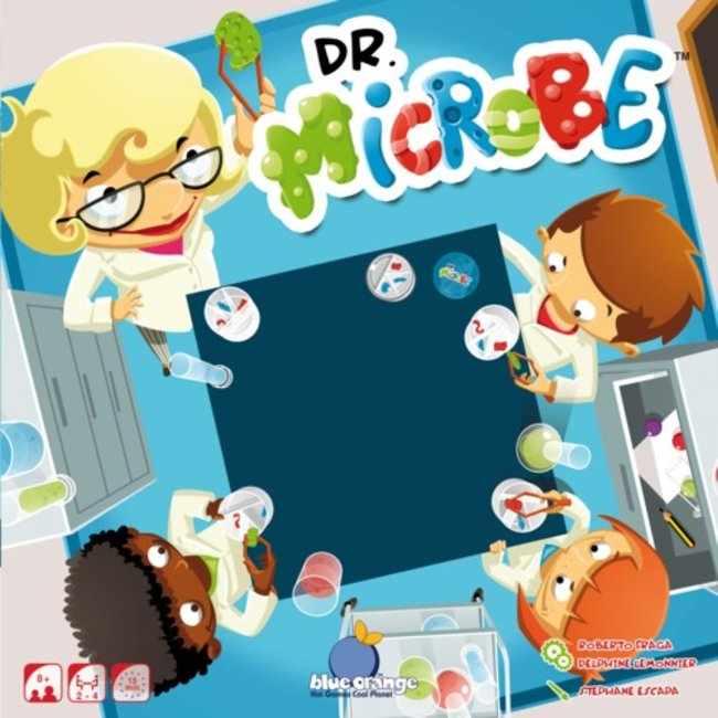 Blue Orange Dr Microbe [multilingue]