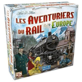 Days of Wonder Aventuriers du rail (les) - Europe [français]