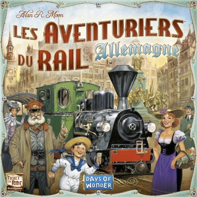 Days of Wonder Aventuriers du rail (les) - Allemagne [French]