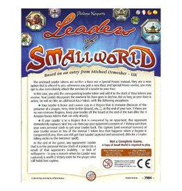 Days of Wonder Small World : Leaders of Small World [multilingue]