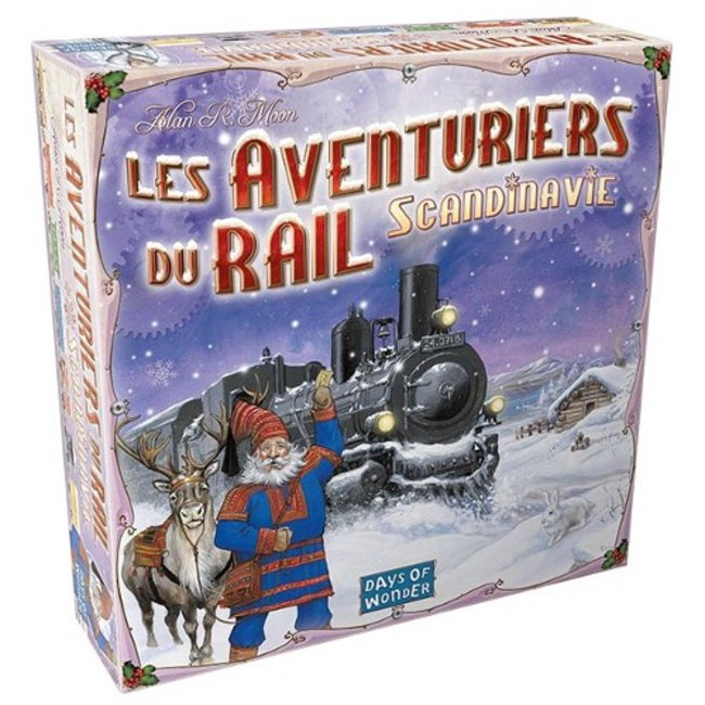 Days of Wonder Aventuriers du rail (les) - Scandinavie [French]