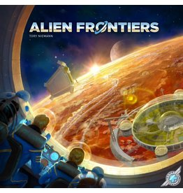 Game Salute Alien Frontiers [anglais]