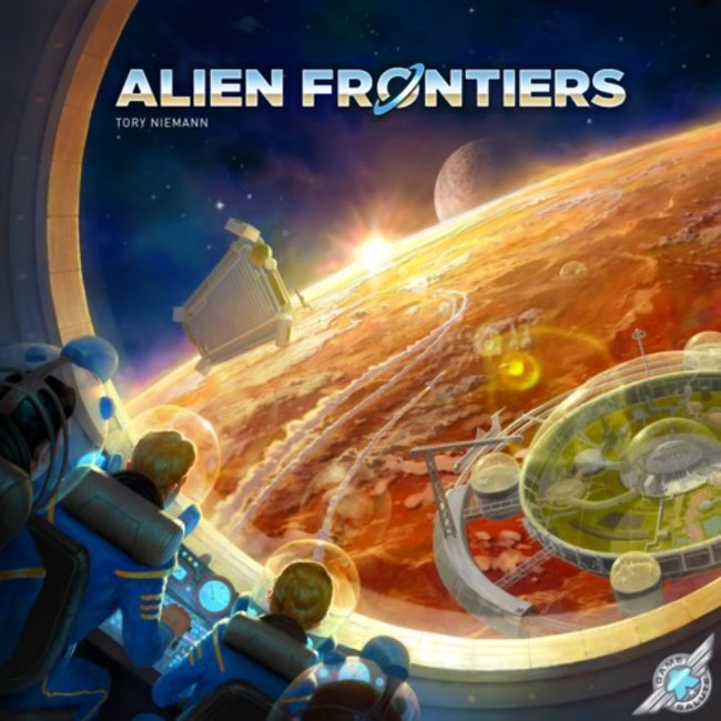Game Salute Alien Frontiers [English]