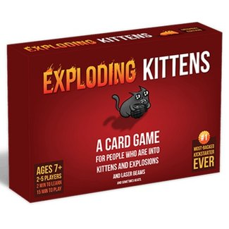 Exploding Kittens Exploding Kittens [anglais]