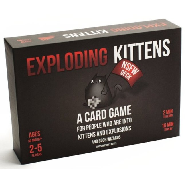 Exploding Kittens Exploding Kittens - NSFW Deck [English]
