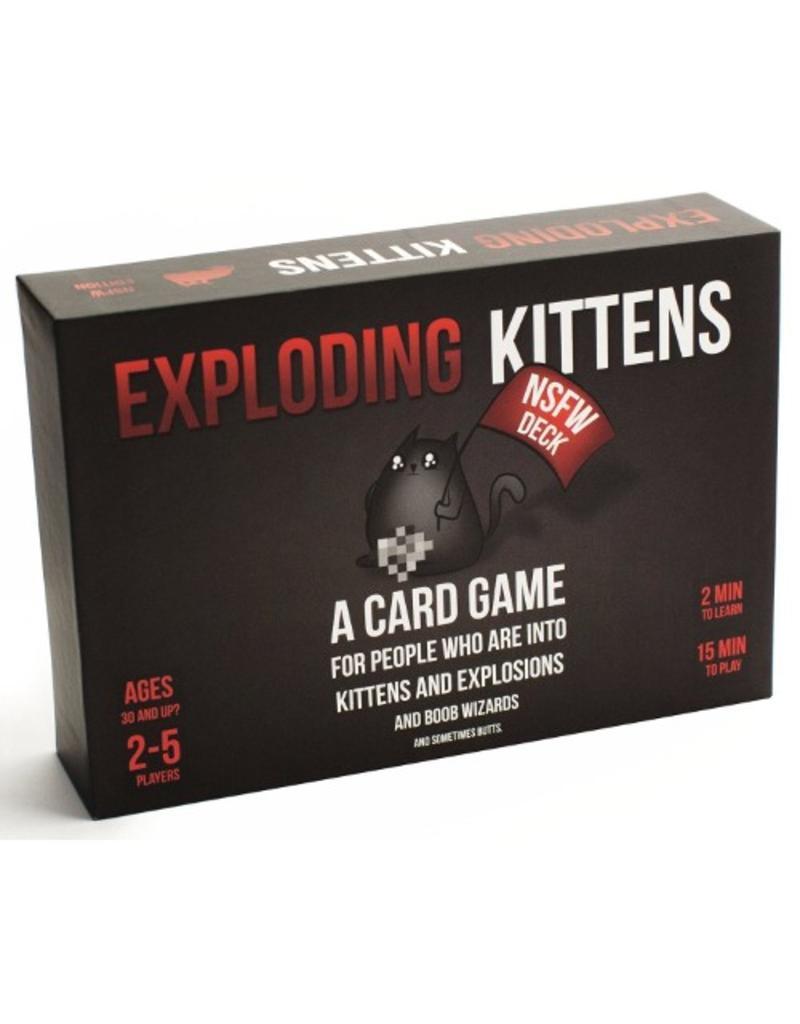 Exploding Kittens Exploding Kittens - NSFW Deck [anglais]