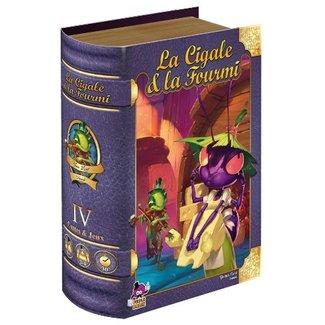 Purple Brain Cigale & la fourmi (la) [français]