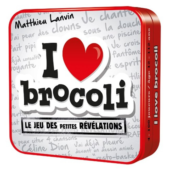 Cocktail Games I Love Brocoli [French]
