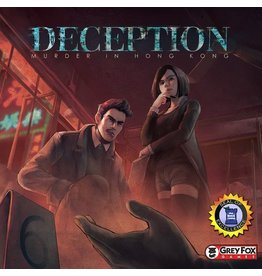 Grey Fox Games Deception - Murder in Hong Kong [anglais]