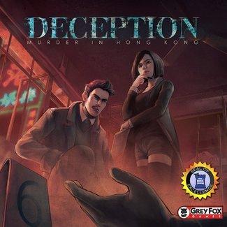 Grey Fox Games Deception - Murder in Hong Kong [anglais]