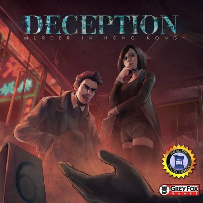 Grey Fox Games Deception - Murder in Hong Kong [English]