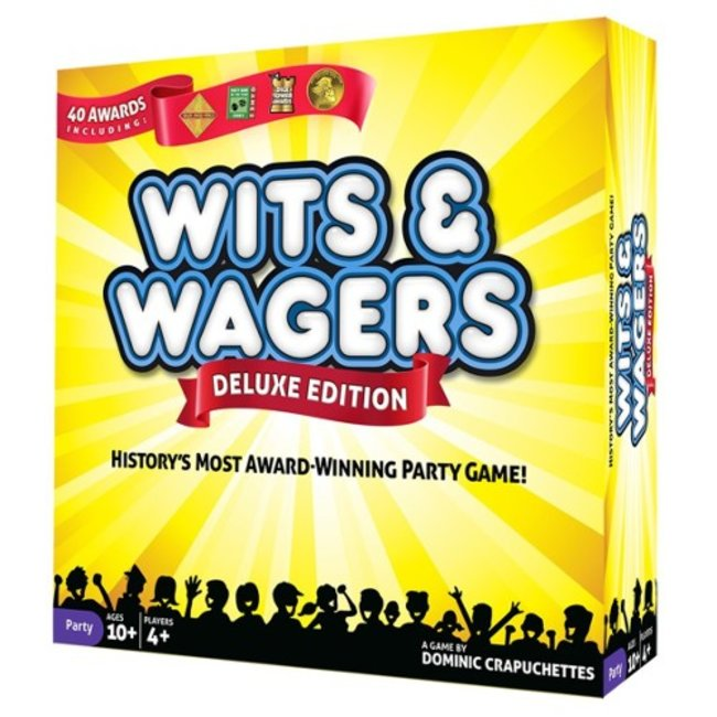 North Star Games Wits and Wagers - Deluxe Edition [English]