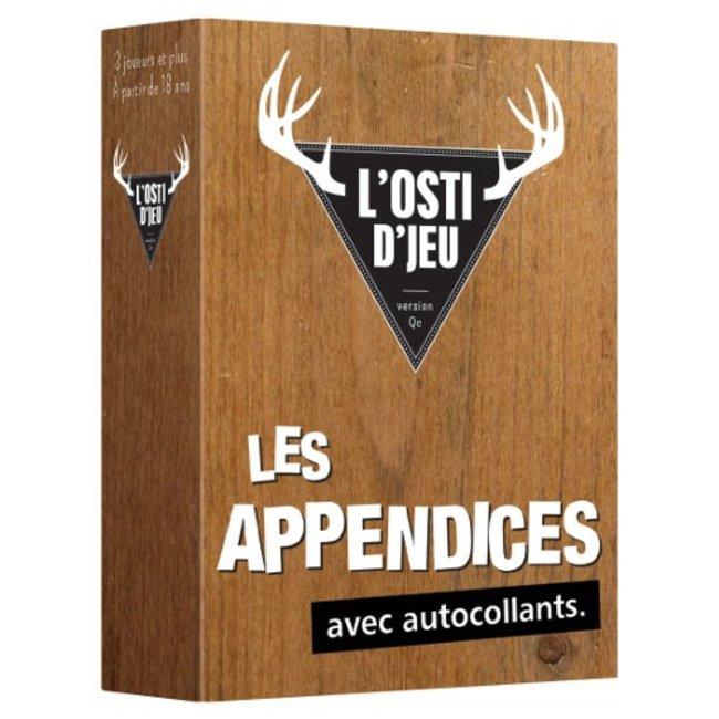 Randolph Osti d'jeu (l') : Les Appendices [French]