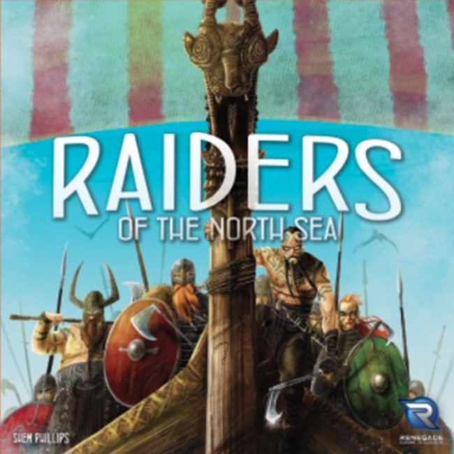 Renegade Game Studios Raiders of the North Sea [English]
