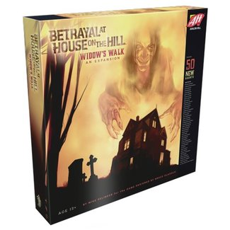 Avalon Hill Betrayal at House on the Hill : Widow's Walk [English]